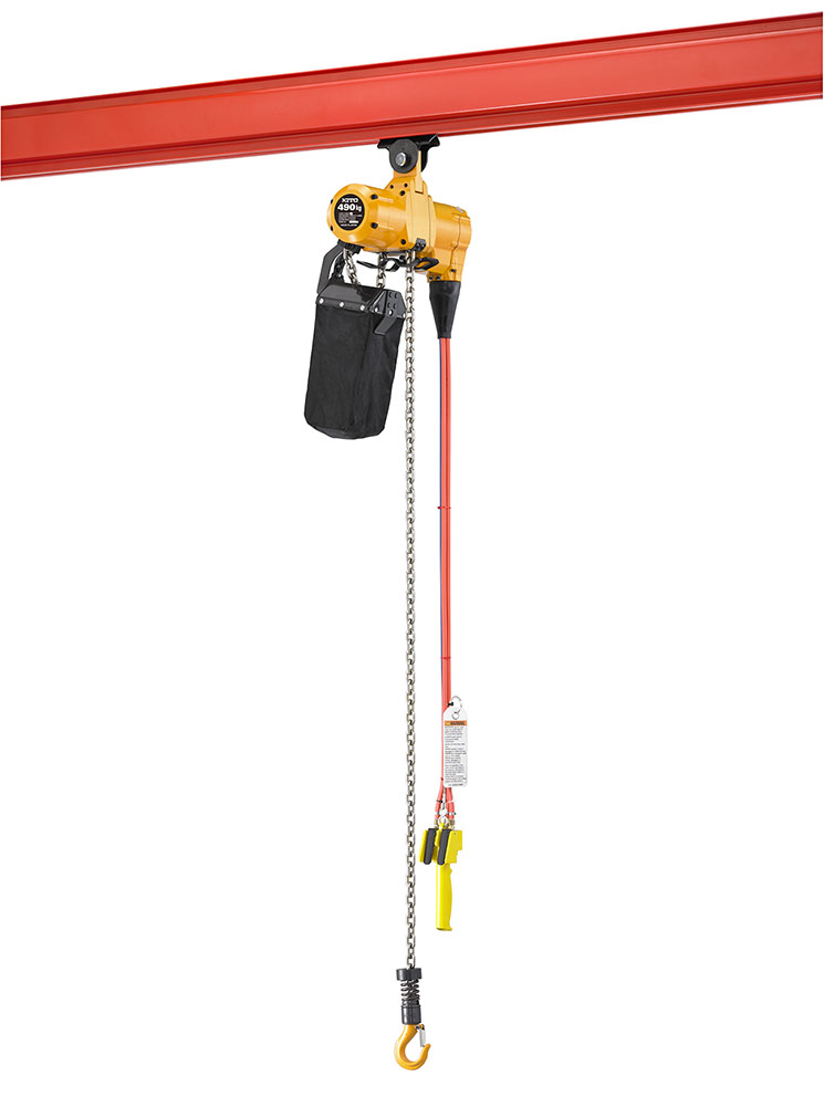Tuned In Tokyo >> Kito Announces New Air Hoist|Topics|KITO CORPORATION