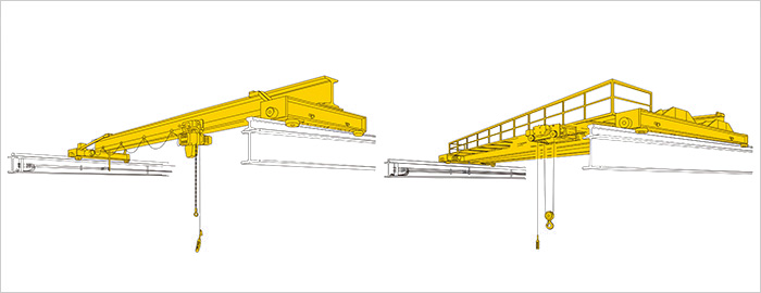 Overhead Cranes Dimensions : Specifications dimensions overhead cranes products
